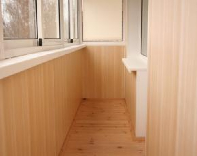 Обшить вагонкой балкон цена в калининграде.